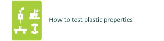 how to test plastic properties